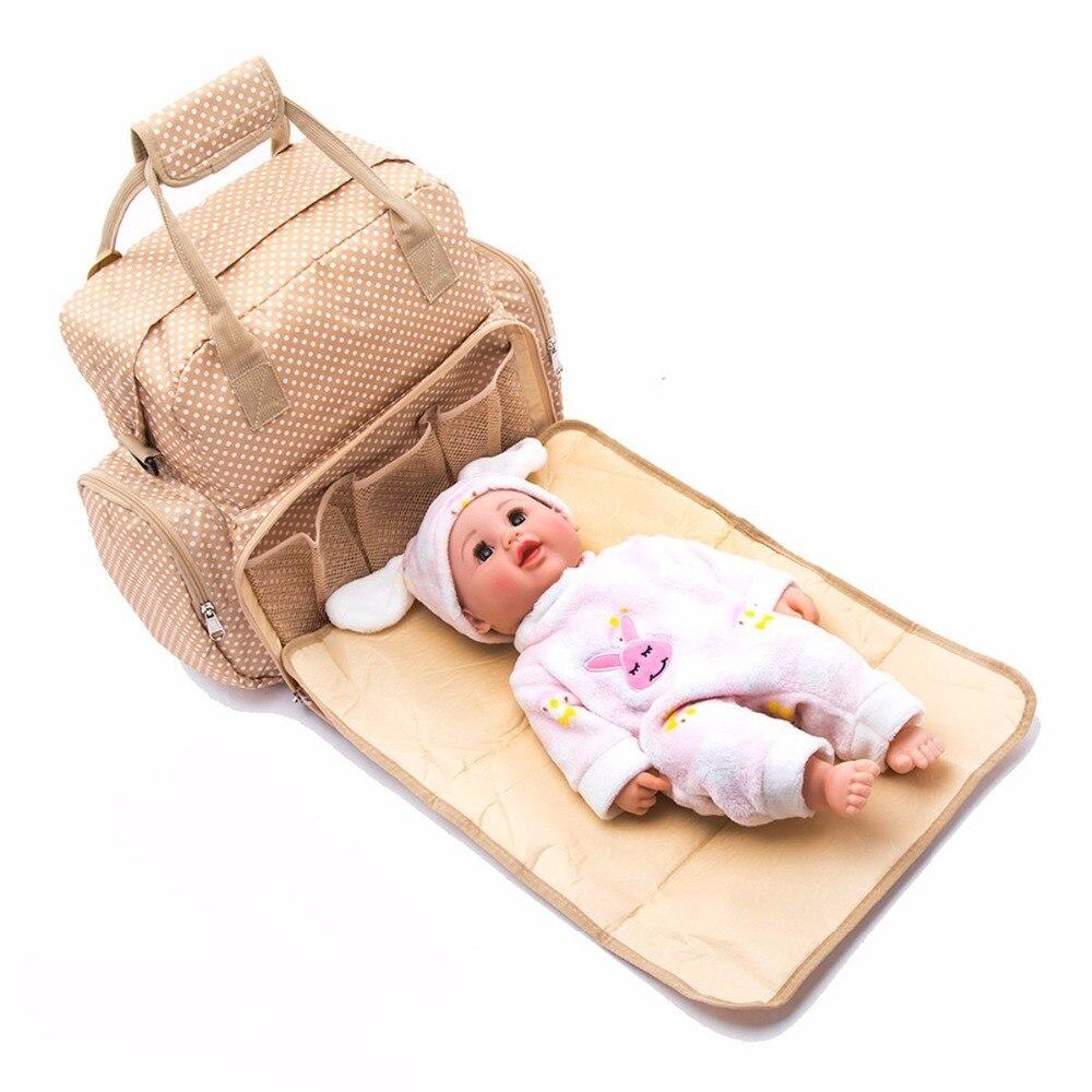 Fashion Mummy Maternity Nappy Bag Brand Large Capacity Baby Diaper Bag Travel Backpack Designer Nursing Bag For Baby Care