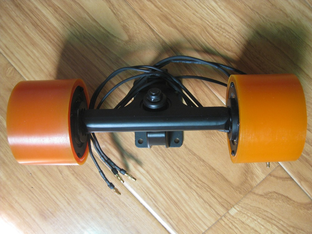 New Arrival 63mm Dual Hub Motors Kit For DIY Electric Skateboard Longboard