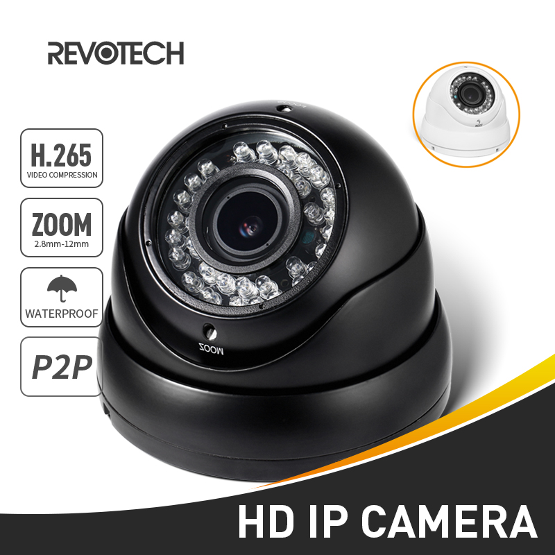 H 265 Waterproof 1080P 2 8 12mm Zoom IP Camera 2 0MP 36 LED Outdoor Security