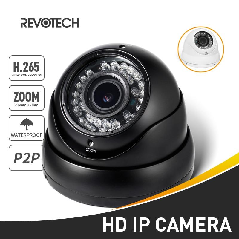 H.265 防水 1080P 2.8 12 ミリメートルズーム IP カメラ 2.0MP Led 屋外防犯ナイトビジョン CCTV システムビデオ監視 HD カム P2P  グループ上の セキュリティ & プロテクション からの 監視カメラ の中 1
