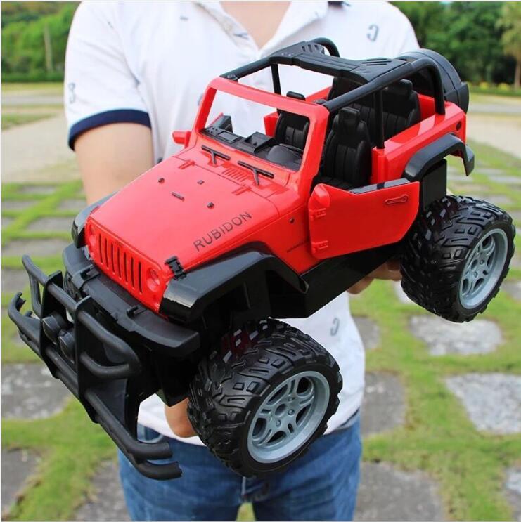 30 cm adultes enfants jouets 1:16 4 canaux 2.4G haute vitesse télécommande RC hummer escalade voiture de fond - 3