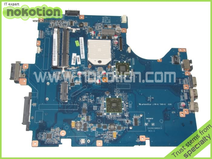 DA0NE8MB6C0 Laptop Motherboard for SONY vpc-ef AMD 216-0752001 Mainboard