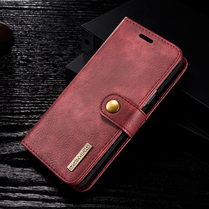 Image 2 - Magnetic Leather Wallet Case For Samsung A3 A5 J3 J5 2017 EU Flip Purse For A7 A6 A8 Plus 2018 Kickstand 360 Protective Cover