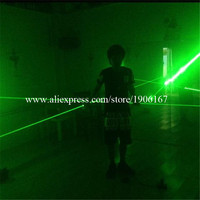 Wholesale 2 Pairs Laserman Show Pointers Projector Stage Laser Show Dance DJ Club Bar Party Supplies Green Laser Man Hand Laser