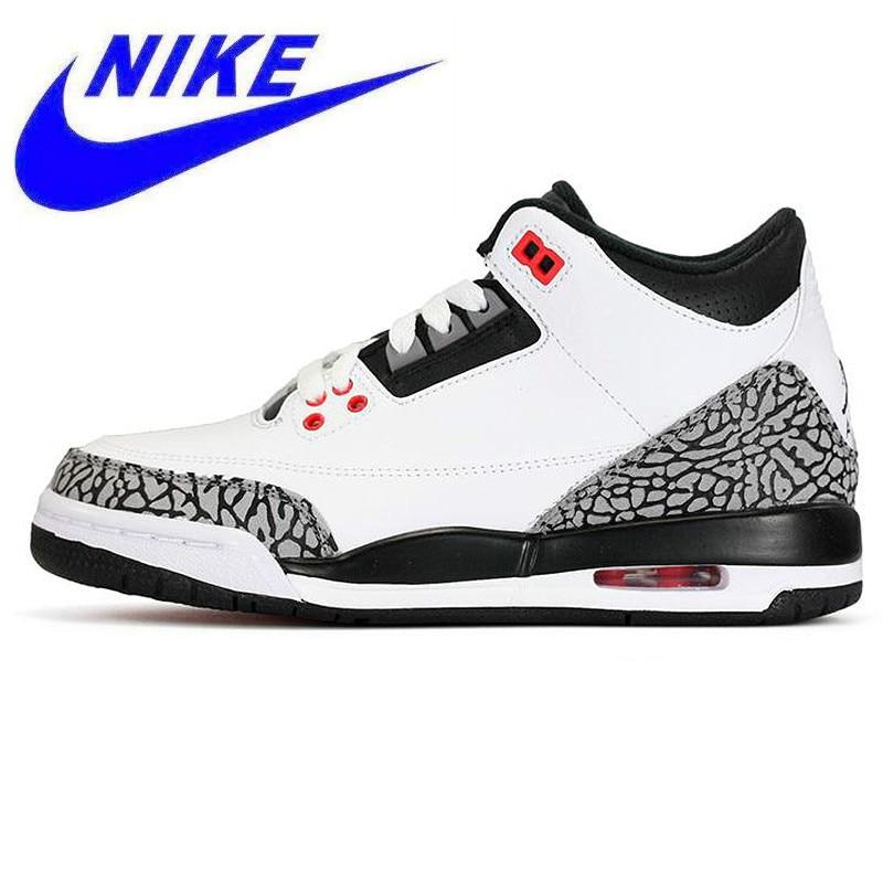 finest selection 82b80 33f4c Zapatillas de baloncesto originales Nike Air Jordan 3 Retro