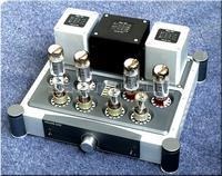 終わっA40X2パワーアンプel34管プッシュプルクラスaパワーアンプ40ワット+ 40ワット新しい -
