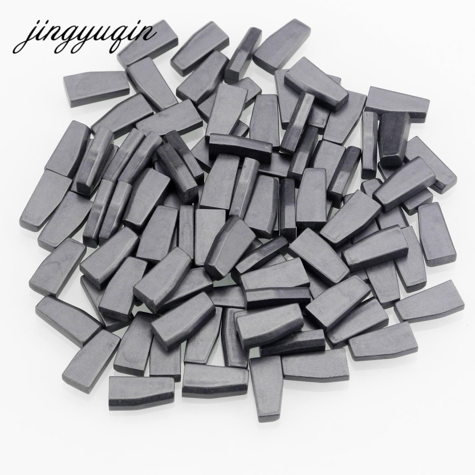 Jingyuqin 10pcs/lot Car Key Chip ID44 ID46 ID60 Transponder Chip Carbon PCF7935AA PCF7936/PCF7936AS