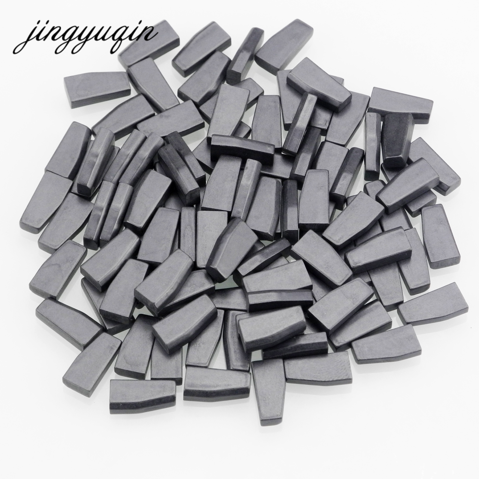 jingyuqin 10pcs/lot Car Key Chip ID44 ID46 ID60 Transponder Chip Carbon PCF7935AA PCF7936/PCF7936AS цены