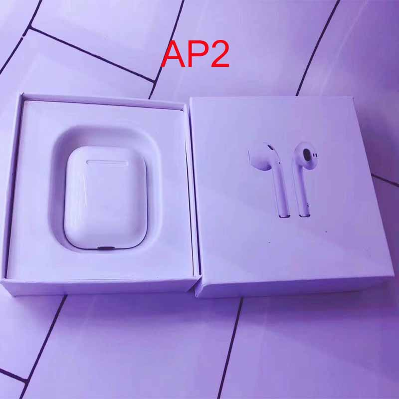 AP2 TWS 1: 1 taille pop up fonction support sans fil charge Bluetooth 5.0 écouteurs PK i10 i20 tws w1 puce xy pod