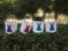 Buy decorative gift baskets and get free shipping on aliexpress 50pcslot 4 colors stock tail bucket kids easter decoration negle Image collections