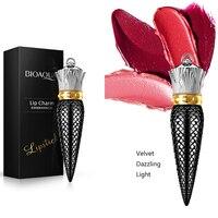 Fashion Lip Balm Queen Scepter Velvet Matte Waterproof Lipstick Cosmetics