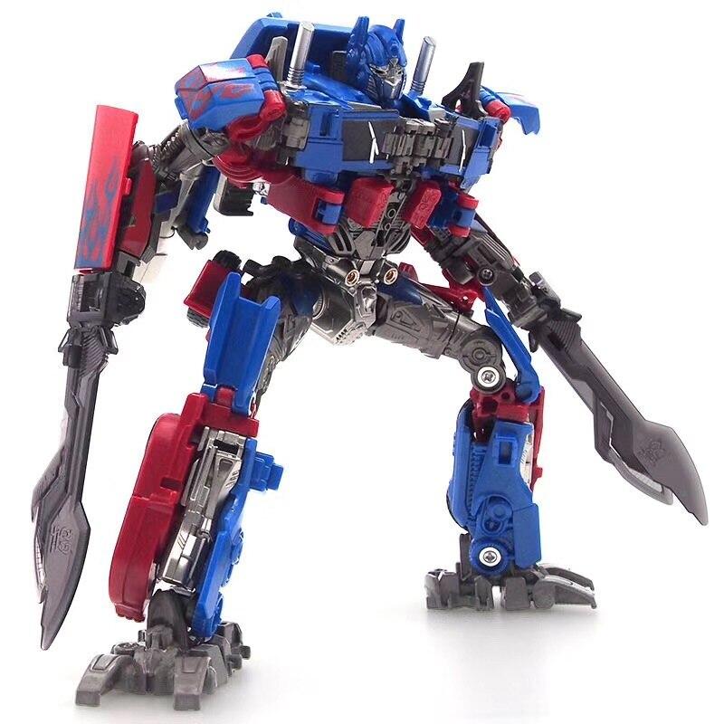 20 cm modèle Transformation Robot voiture Action jouets en plastique jouets Action Figure jouets pour l'éducation enfants meilleur cadeau - 5