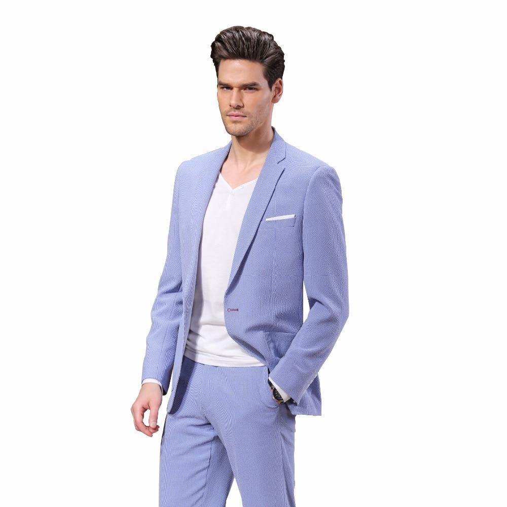 DARO 남성 정장 재킷 슬림핏 재킷 남성 정장 바지 - 남성 의류