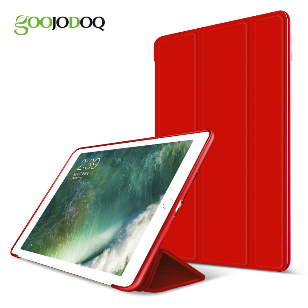 For iPad Air 2/ Air 1 Silicone Magnetic Case for iPad 5 6 Smart Cover Soft TPU Case PU Leather Flip Stand Funda Auto Sleep/Wake high quality thickening tpu silicone cover for ipad air ipad 5 case fashion soft transparent froste cover air1 tablet pc stand
