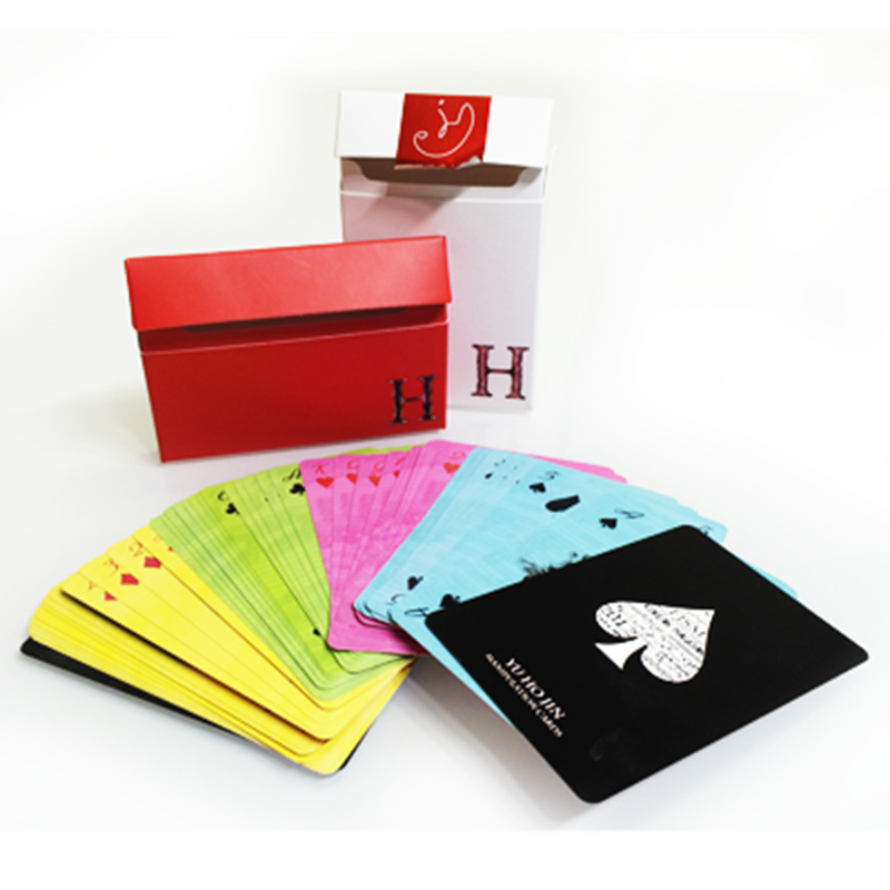1 Deck Yu Ho Jin manipulation cards (multi color) by Yu Ho Jin - magic Tricks Poker Magic Playing Cards Magia Props 81307 ювелирный камень jin yu titian 1 150