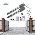 Schwere Tür opener 110/220 V eingang 250 W 24 v dc Motor Schaukel tor operator türöffner solar power unterstützt für 400Kg tor