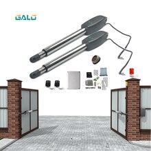Schwere Tür opener 110/220V eingang 250W 24v dc Motor Schaukel tor operator türöffner solar power unterstützt für 400Kg tor