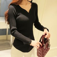 Autumn Winter Womens Cashmere Sweaters Ladies Full Sleeve Patchwork Pullover Female Loose Knitted Sweaters Long Warm