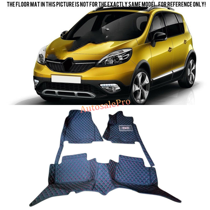 Right & Left Hand Drive Interior front rear Floor Mat carpets Pad cover For Renault Scenic III 2010 2011 2012 2013 2014 2015Right & Left Hand Drive Interior front rear Floor Mat carpets Pad cover For Renault Scenic III 2010 2011 2012 2013 2014 2015