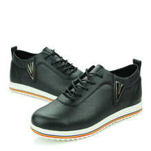 2016 High Fashion Shoes Men Spring Summer Men's Flats Casual Men Shoes Leather 2016