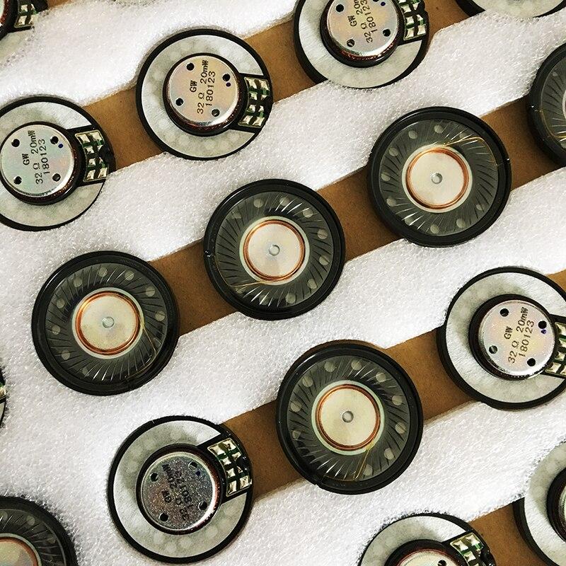 40mm D'origine haut-parleurs De Remplacement pièces De rechange pour Bose QC2 QC25 QC35 QC15 QC3 AE2 OE2 Studio 2 40mm pilotes casque 32ohm