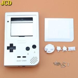 Image 4 - JCD Cho GBP Tay Cầm Nhựa Toàn Vỏ Vỏ Bao Da Thay Thế Cho Gameboy Bỏ Túi Game Vỏ Ốp Lưng Có Nút Bấm Bộ