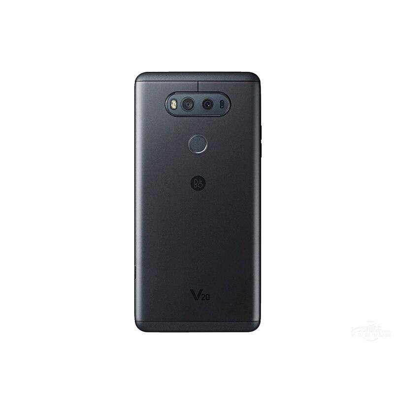 """Разблокированный LG V20 5,"""" один/две sim Snapdragon 820 4 Гб ОЗУ 64 Гб ПЗУ 3 камеры(без иврита"""