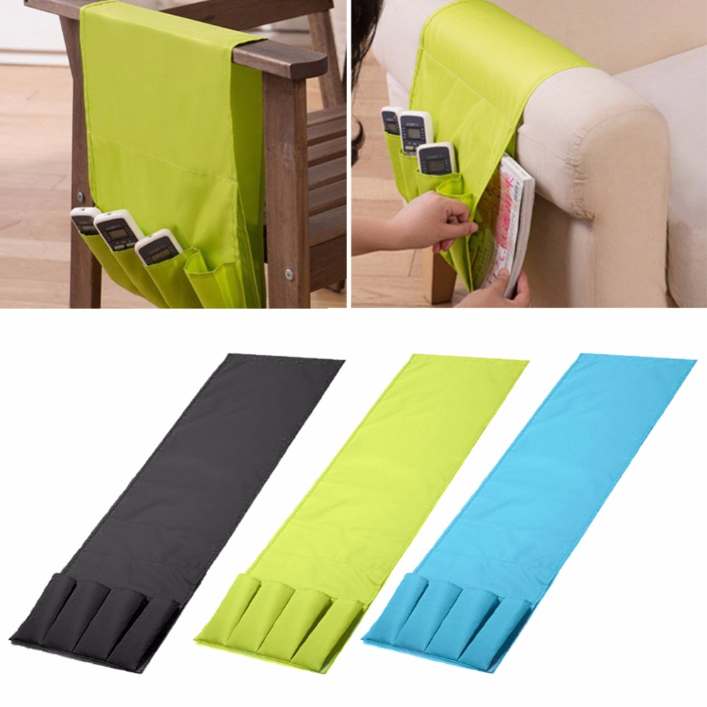 Multifunctional 4 pocket armchair couch storage remote for Sofa organizer