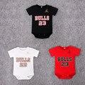 Новый 2017 Jordan Baby Rompers Комбинезон Удобная Одежда для Новорожденных девочка Комбинезон, новорожденный ребенок одежда