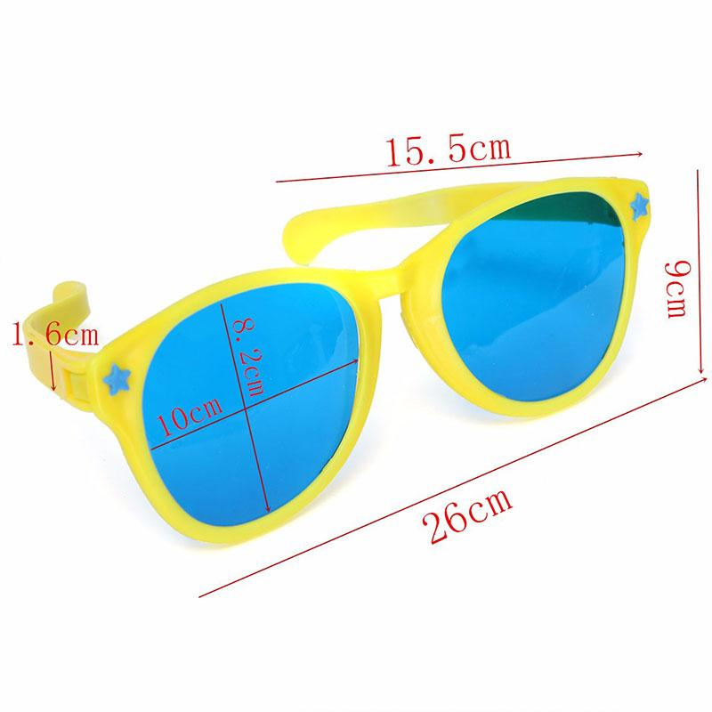 2017 Fashion Women and Men Common Super Large Party Glasses Cosplay Decoration