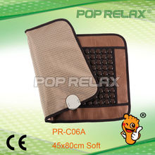 POP RELAX FIR Magnetic negative anion health heating Germanium tourmaline mattress PR-C06A foldable 45x80cm CE