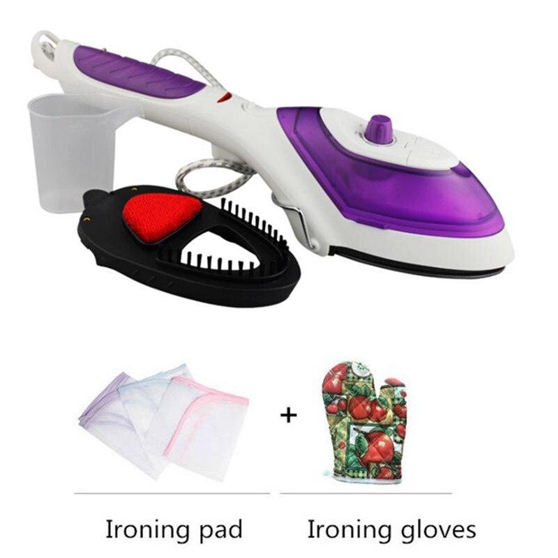 집에 휴대용 휴대용 기선 기선 전기 옷 증기 닦기 - 가전 제품 - 사진 3