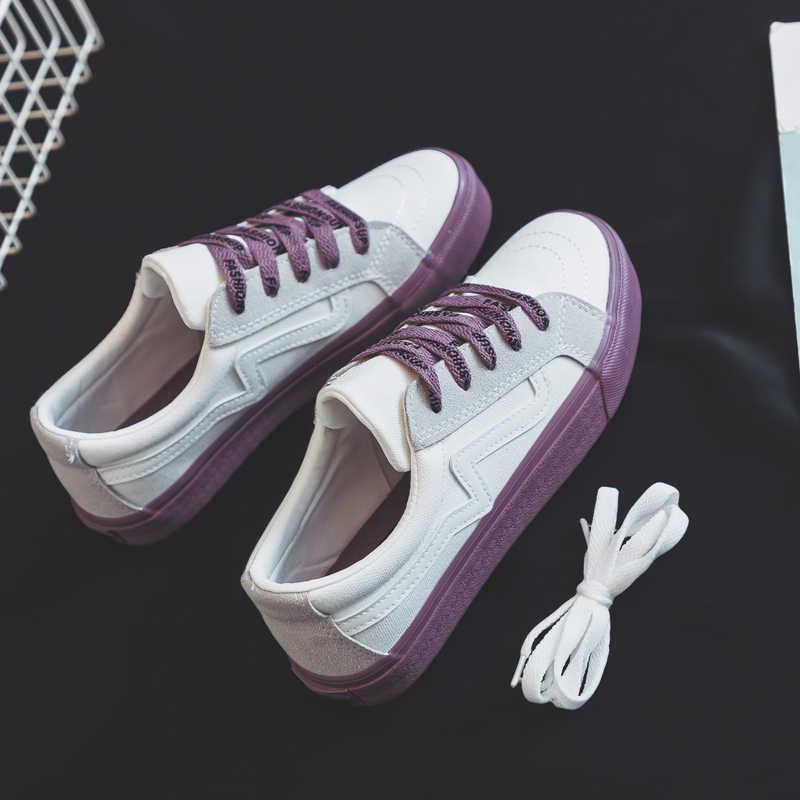 Женская повседневная обувь, смешанные цвета, женские модные кроссовки на  шнуровке, tenis feminino Zapatillas aa07a7c1448