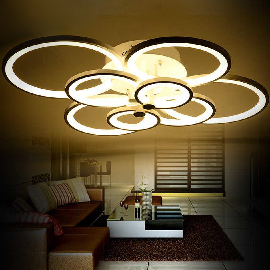 Indoor decorative led ceiling lights wall lamps china led ceiling - Ecolight Novelty Living Room Bedroom Led Ceiling Lights Home Indoor Decoration Lighting Light Fixtures Modern Led
