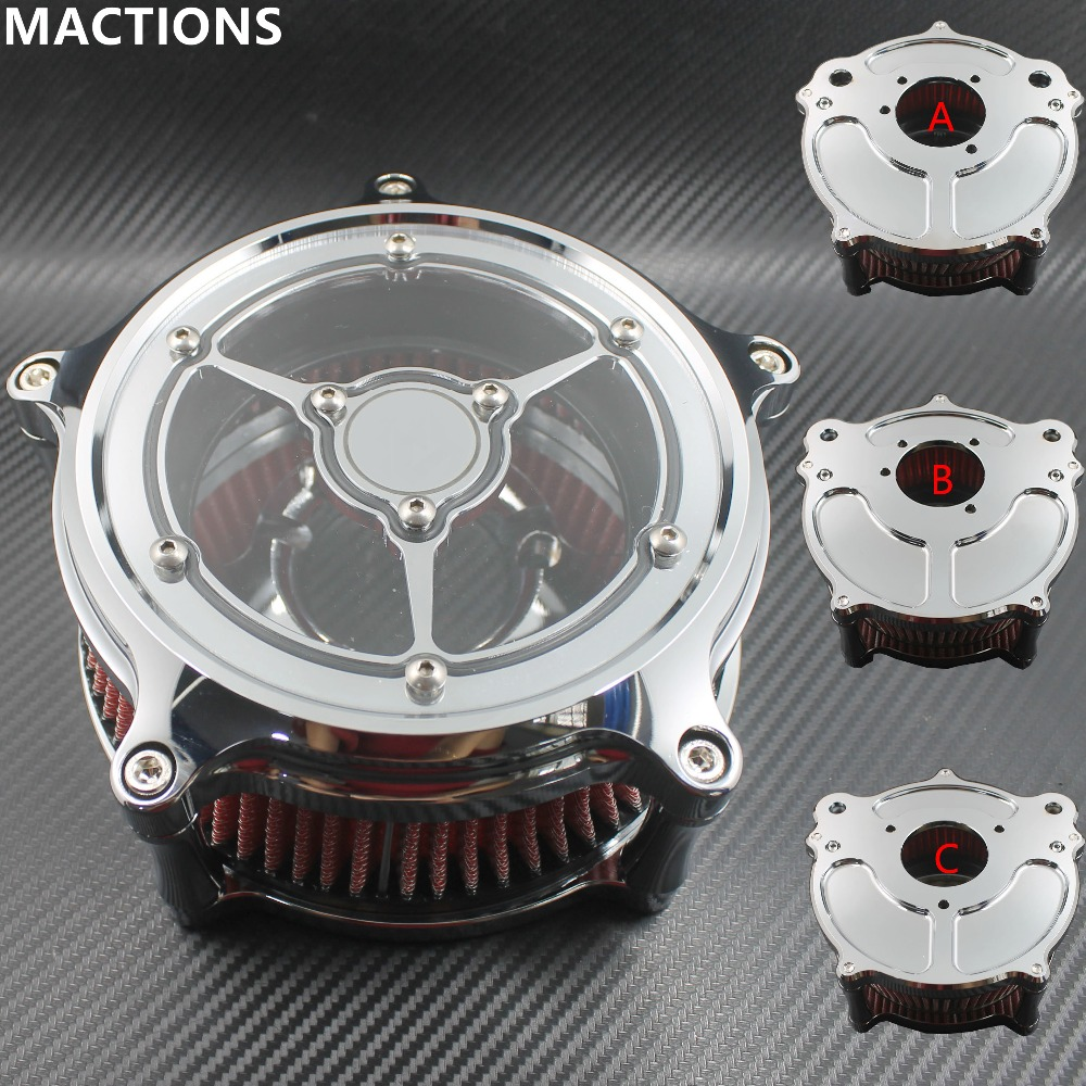 Air Cleaner Intake Filter Fit Chrome Motorcycle Parts CNC Crafts For Harley Sportster Road King Gliding Softtail DynaAir Cleaner Intake Filter Fit Chrome Motorcycle Parts CNC Crafts For Harley Sportster Road King Gliding Softtail Dyna