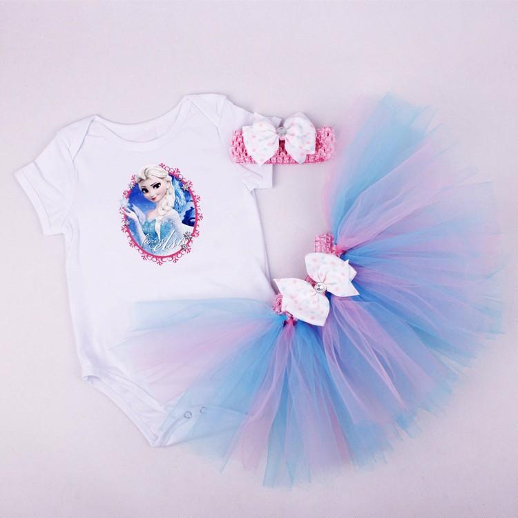 Newborn Girls Summer Baby Clothing Sets (8)