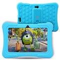 Toque dragão Y88X Plus 7 polegada Crianças Laptop Tablet pcs google quad core android 5.1 1 gb/8 gb rom do jogo livre kidoz pré-Instalado