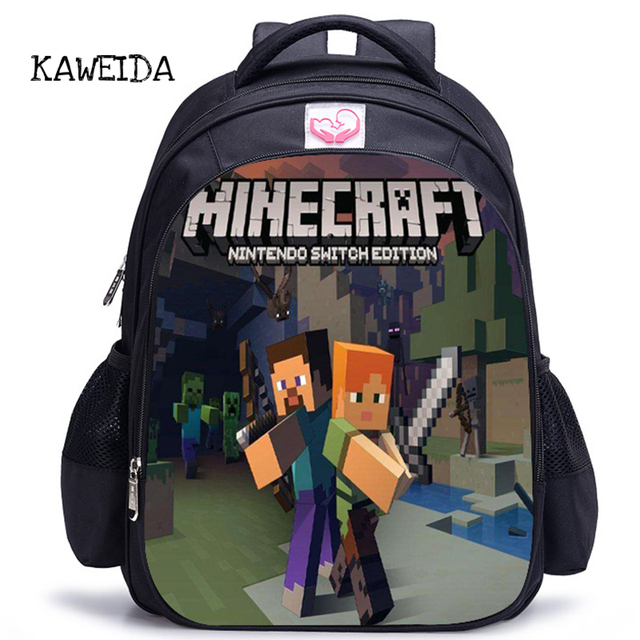 Cartoon Backpack Children Teenagers School Bag Hot Big Backpacks Pupil kids  backpack Schoolbag Book Bags for Boys Girls 14d3c8b4db