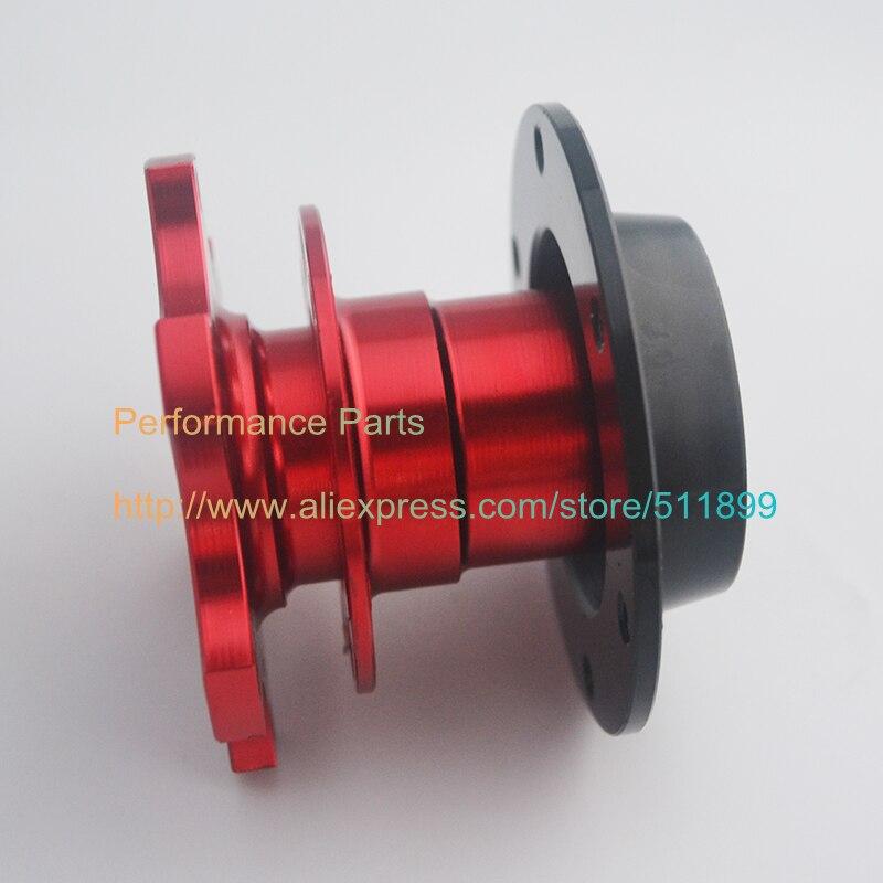 US $15 9 |LYJ Steering Wheel Quick Release Aluminum Steering Wheel Adapter  6 Holes Universal Fitment Gold/Black/Red-in Steering Wheels & Steering