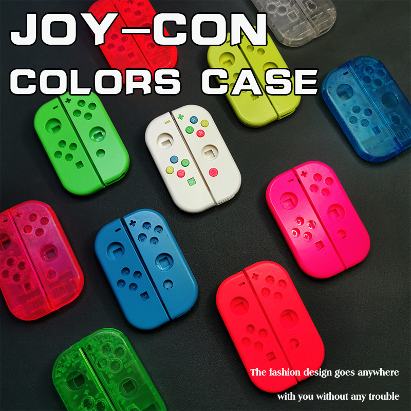 Para Nintendo Interruptor Interruptor de Alegria-Con Substituição Shell Habitação Nintend NS L R JoyCon Cover NX Alegria da Esquerda À Direita caso Controlador de Con