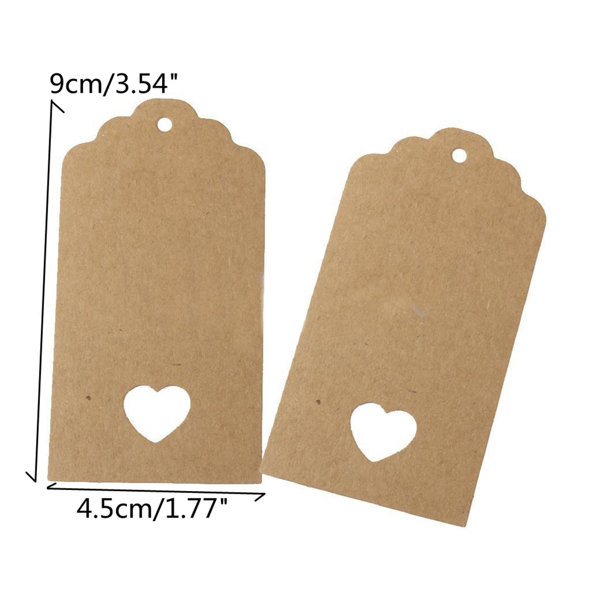Kraft paper tags hanging labels string price craft diy card tags kraft paper tags hanging labels string price craft diy card tags wedding party favor gifts bags boxes decoration 100pcsset in party diy decorations from jeuxipadfo Choice Image