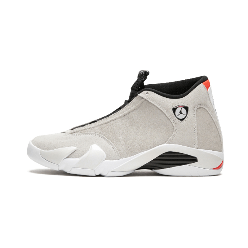 Original Authentic NIKE Air Jordan 14 Retro Men's Basketball Shoes Sport Outdoor Sneakers Medium Cut Lace-Up Good Quality 487471 76