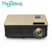 ThundeaL M5 HD Projector 4000 Lumens Android 6.0 WiFi Bluetooth LED Projector (Optional) Support 1080P TV HDMI VGA 3D Projector