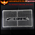 High Quality stainless steel Motorcycle Radiator Grille Guard Cover Protector For HONDA CBR250R CBR 250R 2010-2012 2011