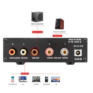 Image 4 - AIYIMA TPA3255D2 Amplifier 300W HIFI Mono Channel Audio Power Subwoofer Amplifier Class D AMP NE5532 OP AMP For Home Sound Audio