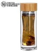 Forever Remembered My Water Bottle 450ML EG501 New Custom Logo Borosilicate BPA Free Heat Resistant Glass