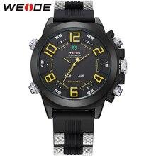 Best Price Mens Fashion Digital Display Alarm Dual Time Zones Silicone Belt Wrist Watch Quartz Movement Analog Relogio Masculino