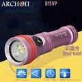 2018 Новый ARCHON D15VP прожектор для дайвинга CREE LED Max 1300 люмен 110/30 градусов 100 м подводный фонарик для дайвинга