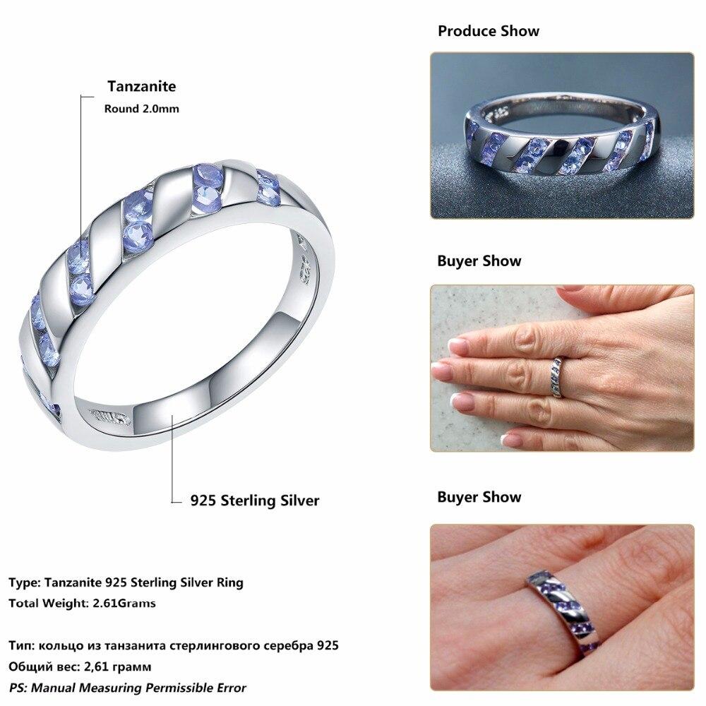 dbc2.com.au Rings Jewelry Natural Tanzanite 925 Sterling Silver ...
