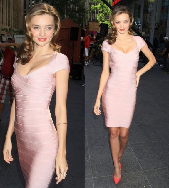 Short Sleeve Bodycon Party Dress